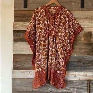 Tops - Silk kaftan